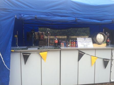 Eastnor Castle Festival Bar